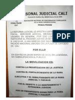 Asonal Judicial Cali Marcha 29 Marzo