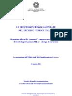 06DossierCresciItalia Tariffe Profession Ali e Professione Forense