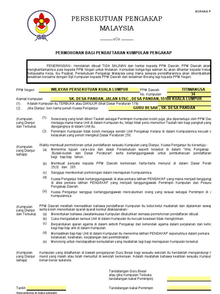 Ppm 8 Pendaftaran Kumpulan Pengakap