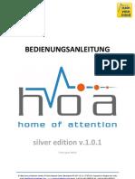 Hoa Silver Edition Manual v1 1-0-120215 De