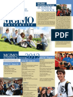 MGIMO Summer School 2012