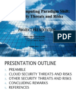 Security of is Presentation