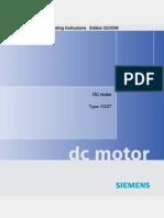 Manual Motor DC (Siemens)