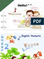 English Thematic