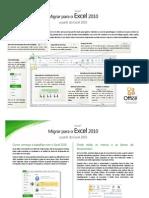 Migrar Para o Excel 2010