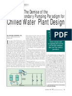 The Demise of the Primary-Secondary Pumping Paradigm for Chilled Water Plant Design