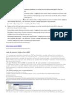 Windows Server 2008 soporta dos conexiones simultáneas
