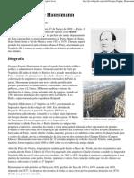 Georges-Eugène Haussmann – Wikipédia, a enciclopédia livre