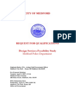 Medford Police Station RFQ- Updated March 29, 2012