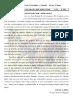 DEPARTAMENTO CIENCIAS NATURALES LECTURAS 1º Y 2º ESO