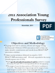 2011 Association Young Professionals Survey Results
