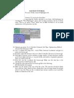 Gaussian Tutorial[1]