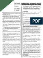 CONSTITUIÇÃO FEDERAL. UFRJ. ART. 37 AO 41