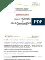 Previsão FUNDEB 2012