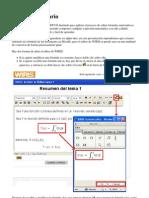 WIRIS-Manual de Usuario