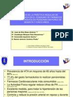 ACTIVIDAD FÍSICA Y FÁRMACOS HTA MAYORES (26 de octubre de 2007)