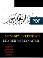 Management Project 007