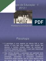 1ª aula Psicologia da Educação
