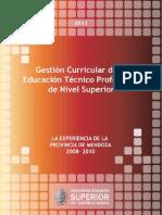 Libro - Gestion Curricular de La Educacion Tecnico Profesional de Nivel Superior