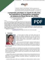 Psicologia Desportiva - MMA