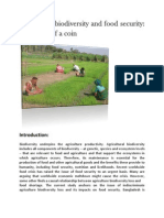 Agriculture Biodiversity and Food Security