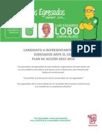 Plan de Accion Luis Eduardo Lobo 2012