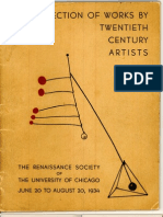 A Selection of Works by Twentieth Century Artists