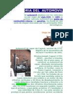 HISTORIA DEL  AUTOMÓVIL walfre salinas