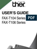 FaxT104 FAXT106 UserGuide