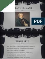 Diapositivas Emanuel Kant