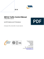 TRL Mova Traffic Control Manual