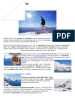 Esqui na argentina