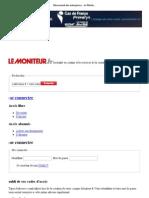Classement Des Entreprises - Le Moniteur.fr