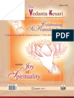 The Vedanta Kesari December 2011