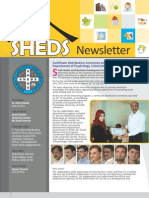 Sheds Newsletter July Dec 2011