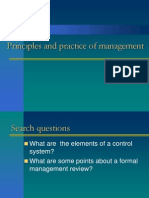 Principles and Practice of Management ales