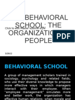 The Behavioral School