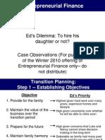 Eds Dilemma-Instructors Comments