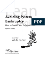 Avoiding System Bankruptcy-How to Pay Off Your Technical Debt_v3ab