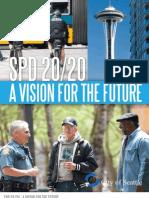 SPD 2020 -- Seattle Police Dept. Reform plan