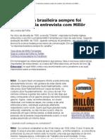 Entrevista Millôr Fernandes