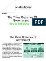 The Three Branches of Government