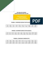 Modelo Examen Nivel b1 16mayo Clave Respuestas