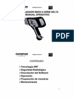 Analizador Innov-x Serie Delta (Manual Operativo