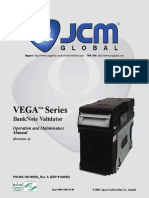 VEGA Series BankNote Validator