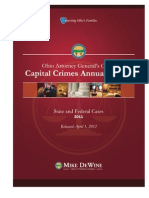 2011 Capital Crimes Annual Report