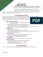 Nursing Care Plan 5 Altered Nutrition