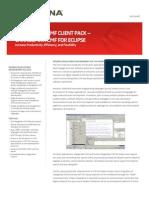 Serena ChangeMan ZMF Client Pack Eclipse Datasheet