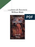 Blake, William - Cantares de Inocencia