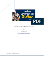 Guitar Chord Structure